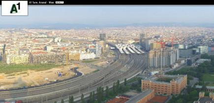 Náhledový obrázek webkamery Vídeň - Arsenal věž