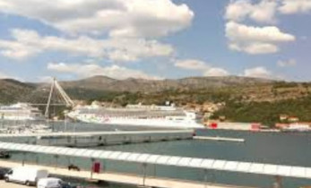 Náhledový obrázek webkamery Dubrovnik - Přístav Gruž
