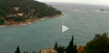 Náhledový obrázek webkamery Dubrovnik - záliv Lapad