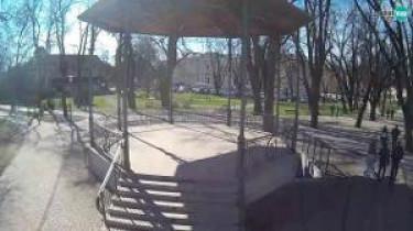Náhledový obrázek webkamery Karlovac - hudební pavilon