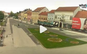 Náhledový obrázek webkamery Koprivnica - Zrinski trh