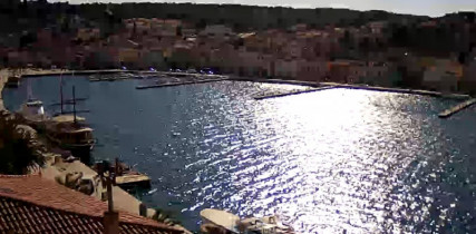 Náhledový obrázek webkamery Mali Lošinj - marina