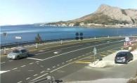 Náhledový obrázek webkamery Omiš - panorama