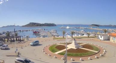 Náhledový obrázek webkamery Pakoštane - přístav