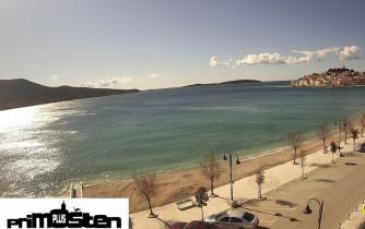 Náhledový obrázek webkamery Primošten - pláž Nova Riva