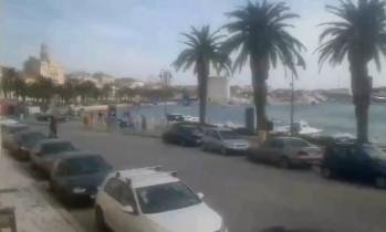 Náhledový obrázek webkamery Split - promenáda