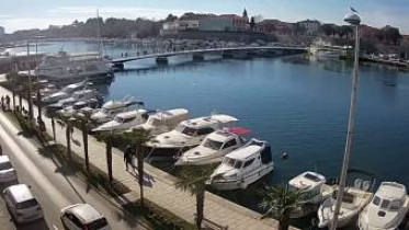Náhledový obrázek webkamery Zadar - most