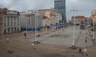 Náhledový obrázek webkamery Záhřeb - náměstí Bana Jelacica
