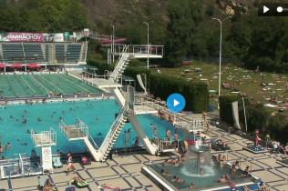 Náhledový obrázek webkamery Podolí Plavecký bazén