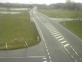 Náhledový obrázek webkamery Aakirkeby - Rute 38