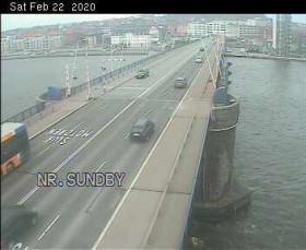 Náhledový obrázek webkamery Aalborg - Rute 180 Limfjordsbroen N