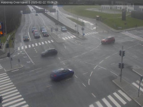 Náhledový obrázek webkamery Aalborg - Rute 180 Ny Nibevej