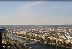 Náhledový obrázek webkamery Paříž - Seina