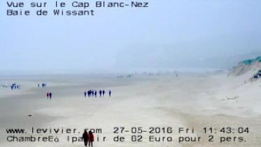 Náhledový obrázek webkamery Wissant - pláž