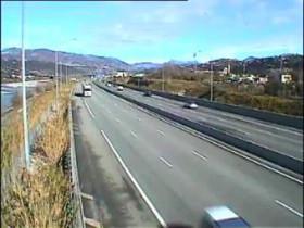 Náhledový obrázek webkamery  Nice - dálnice A8 - Nice St Isidore