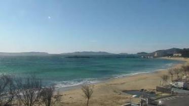 Náhledový obrázek webkamery  Rayol-Canadel-sur-Mer -- mys Nègre a Bénat