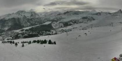 Náhledový obrázek webkamery Courchevel - Col de la Loze