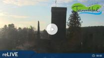 Náhledový obrázek webkamery Bad Teinach-Zavelstein - zřícenina Burgruine Zavelstein